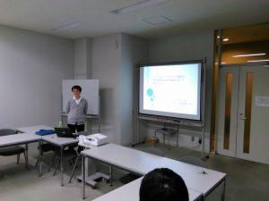 第6回情報工学研究会で橋浦先生が発表しました