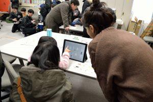 ミニミニ科学教室でプログラミングのテーマを実施しました