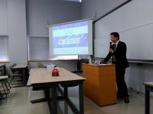 アバロンテクノロジーズの鈴木昌博氏の講演会を開催しました